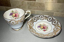 Paragon Bone China Tea Cup And Saucer By Appointment To Her Majesty The Queen