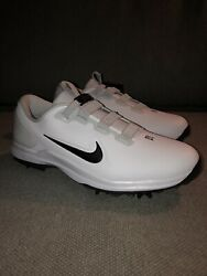 Nike Tiger Woods Tw 71 Fast Fit Golf Shoes White Cd6300-100 Menandrsquos Size 8