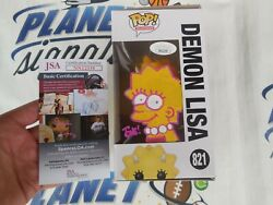 Tone Rodriguez Signed And Sketched Lisa Simpson Funko Pop Jsa Coa The Simpsons