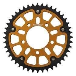 New Supersprox Stealth Sprocket, 44t For Marvic 525 Pitch 5 Bolts 00, Gold
