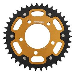 New Supersprox Stealth Sprocket, 39t For Marvic 520 Pitch 5 Bolts 00, Gold