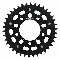 New Supersprox -stealth Sprocket, 38t For Marvic 520 Pitch 5 Bolts 00, Black