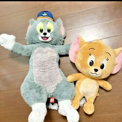 Tom And Jerry 2 Pairs Premium Big Plush Doll Movie Ver. Limited To Japan