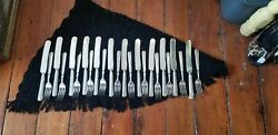 12 1847 Rogers Brothers Butter Knives With 11 1847 Rogers Brothers Forks