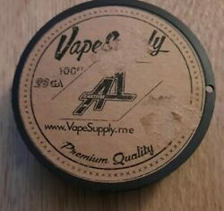 New Vapesupply Kanthal A1 Wire 28ga 100 Ft Resistance A-1 -