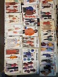 Lot Of 172 Vintage Sewing Patterns Mccalls Butterick Simplicity