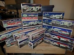 Hess Toy Truck Collection 1989-2006 New In Boxes - Lot Of 23