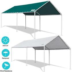 Quictent Carport 10'x20' Heavy Duty Car Shelter Canopy Portable Boat Cover Shed