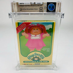 Cabbage Patch Kids Adventures In The Park - Colecovision 1984 Nib Wata 9.8 Ns