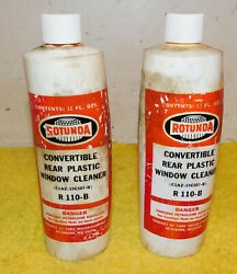 1961-73 Ford Shelby Mercury Lincoln Nos Convertible Rear Plastic Window Cleaner