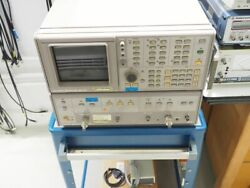 Advantest Tr4172 1800mhz Spectrum Analyser Incl. Measuring Cart And Accessory 290