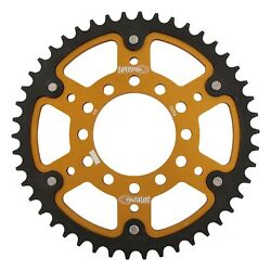 New Supersprox Stealth Sprocket, 46t For Marvic 530 Pitch 6 Bolts 00, Gold