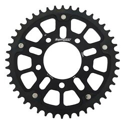 New Supersprox -stealth Sprocket, 44t For Marvic 520 Pitch 5 Bolts 00, Black