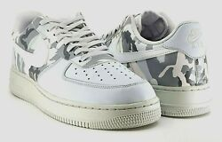 Nike Air Force 1 Mens And03907 Lv8 Low-top And039winter Camoand039 Reflective 2017 White Us11.5