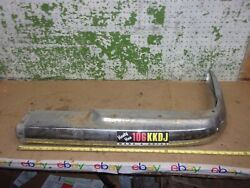 1967 Mercedes 250se Coupe Rear Bumper Rigth End Lower Face Bar 1968 70 1971 Oem