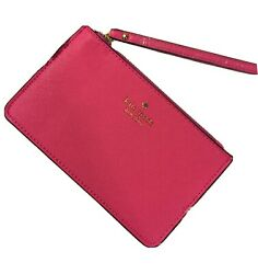 Kate Spade New York Wristlet Wallet NWT MSRP $88 Pink $24.00
