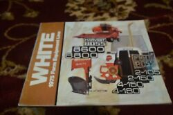 White Oliver Tractor Buyers Guide For 1975 Brochure Fcca