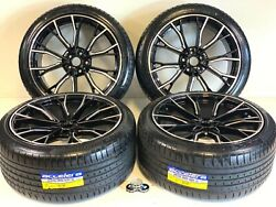 20 Inch Wheels Rims Tires Fit Bmw 351m M5 M6 Staggered F12 M5 New 5x112 Cb66.45