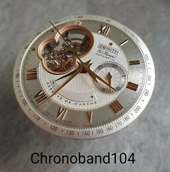 Genuine Oem Zenith Chronomaster El Primero Cal 4021 Watch Movement Dial And Hands