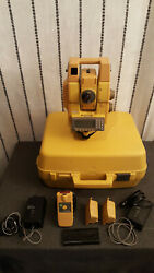Topcon Gpt-8203a Total Station + Rc-2h Robotic Handle + Rc-2rii Remote
