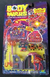 Vintage 1994 Toymax Body Wars Laser Lung Vs The Air-scares New In Orig Package
