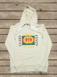 Gucci Hooded Oversized Sweatshirt Gucci Vintage For Men Size XL