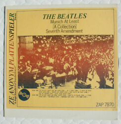 The Beatles Munich At Least Live Lp Record Collectible Rare Beatles Very Clean
