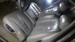 92-96 Cadillac Fleetwood Leather Heated Front Bench Seat Front Seat Only Gray
