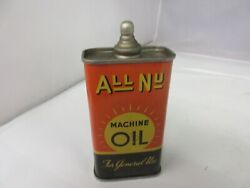 Vintage Advertising All Nu Handy Oiler Oil Auto Tin Can A-452
