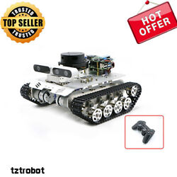 Tracked Vehicle Ros Car Robotic Car No Voice Module With A1 Standard Radar Top