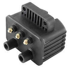 Twin Power Black 12v 3 Ohm Ignition Coil Harley Night Train 1999