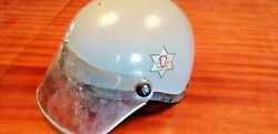Portuguese Helmet Motorbike Official Police Officer From 60andacutes Psp Very Rare