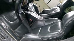 15-18 Volvo S60 Polestar Leather Seat Set Front/rear Black 3t60 Power Heated