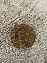 Us Mint Denver Colorado 1789 Department Of The Treasury Coin