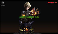 1/1 Studio One Punch Man 1/1 Genos Bust Gk Collector Led Resin Statue Pre-order
