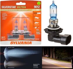 Openbox Sylvania Silverstar Ultra 9012 Hir2 55w Two Bulbs Head Light Dual Beam