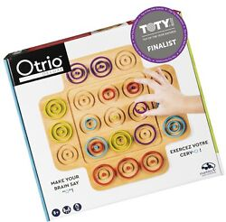 Otrio Wood Strategy-based Board Game For Adults, Families And Kids Ages 8 And...