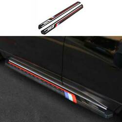 Black Side Step Running Board Nerf Bar Protect For Chevrolet Equinox 2018-2021