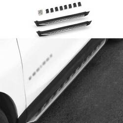 Silver Side Step Running Board Nerf Bar Protect For Chevrolet Equinox 2018-2021