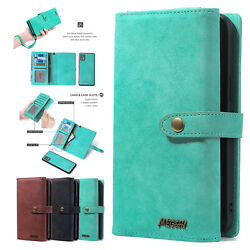 F Motorola Moto G Stylus/g Play/g Power 2021 Removable Leather Wallet Case Cover