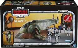 Dhl Star Wars The Vintage Collection The Empire Strikes Back Boba Fett's Slave 1