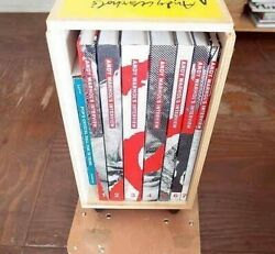 Andy Warhol's Interview 7 Books In A Wooden Box + 2 Appendix Booklets Set