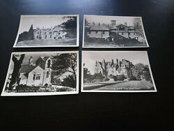 Lot Of 4 Vintage Real Photograph Postcards Of Uk Guest Houses Hotels