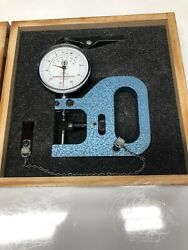 Dorsey Gage Co. Dial Thickness Gage.