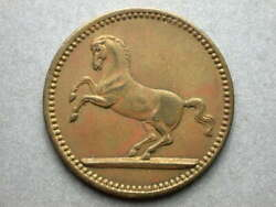 Foreign Germany Spiel Marke Galloping Horse 21mm Token 1
