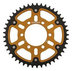 New Supersprox Stealth Sprocket, 7094-45 For Marvic 520 Pitch 6 Bolts 00, Gold