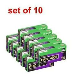 Fujifilm Pro Color Negative Film 120 Pro400h 5 Pack X 10 From Japan Dhl