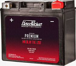 Premium Factory Activated Battery Gyz20h Ytx20 Ytx20h Wet Jet Duo 300 1995-1997