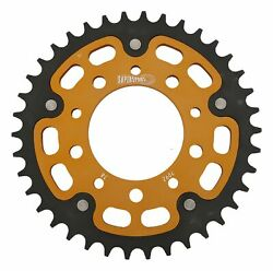 New Supersprox Stealth Sprocket, 38t For Marvic 525 Pitch 5 Bolts 00, Gold