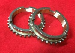 1946-1971 Willys Kaiser Jeep T-90 2nd And 3rd Gear Synchronizer Blocking Ring Set